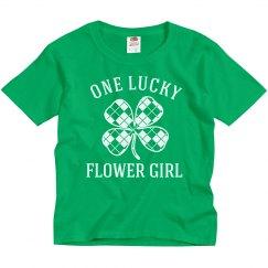 Lucky Irish Flower Girl
