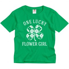 Lucky Irish Flower Girl