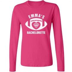 Football Bachelorette Tshirt