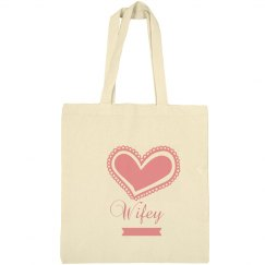 Wifey Tote Bags