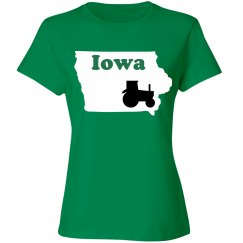 iowa tee- ladies