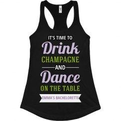 Drink Dance Bachelorette