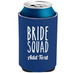 Custom Bride Squad Drinking Gift