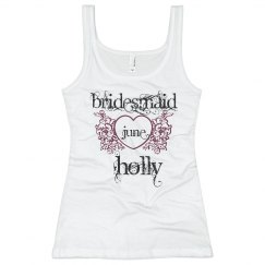 Holly Heart Bridesmaid
