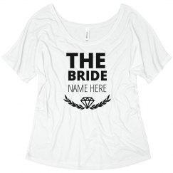 Trendy Diamond Matching Bride