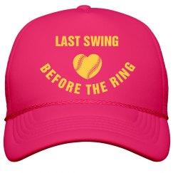 Baseball Bachelorette Last Swing