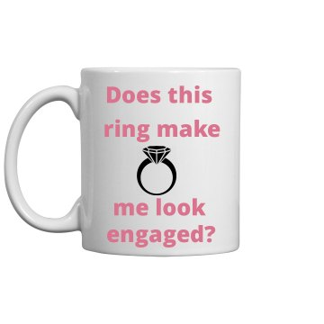 Engagement annoucement mug