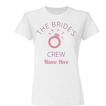 Engagement Ring Bride's Crew