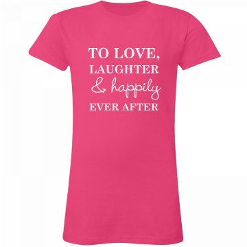 Ever After Monogram Tee