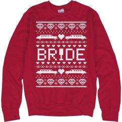 Christmas Sweater Bride