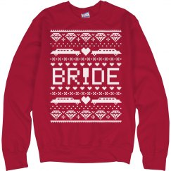 Christmas Sweater Bride