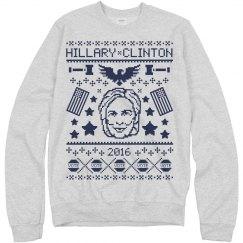 This Bride Votes Hillary