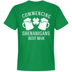 St Patrick's Day Bachelor Shirts