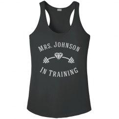 Customizable Mrs. Workout Tank