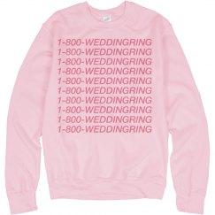 1-800-Wedding Ring Bride