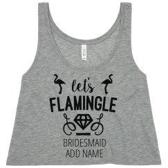 Custom Bridesmaid Flamingo Bachelorette