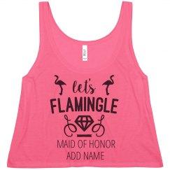 Flamingle Maid Of Honor Dimaonds