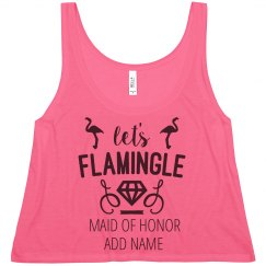 Flamingle Maid Of Honor Dimaonds