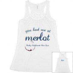 You Had Me At Merlot Tank