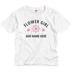 Custom Flower Girl Name