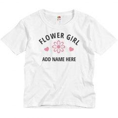 Custom Flower Girl Name