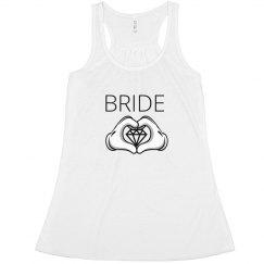 Bride Heart Hands
