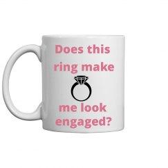 Engagement annoucement mug