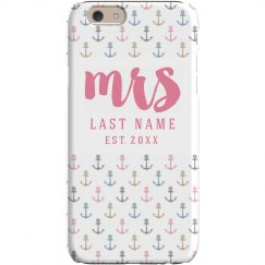 Anchor Bride Custom Mrs Case