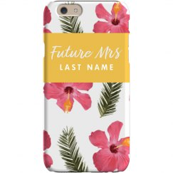 Future Mrs Custom Phone Case