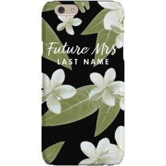 Custom Future Mrs Floral Case