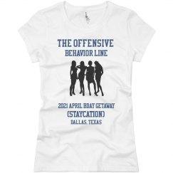The Offensive Behavior Line