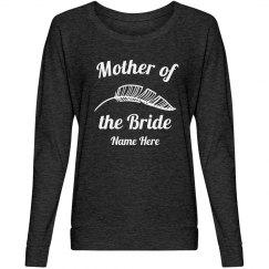 Trendy Mother of Bride