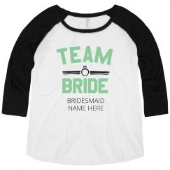 Plus Size Custom Team Bride
