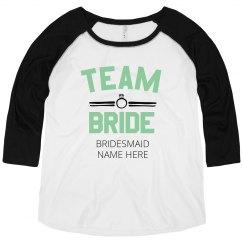 Plus Size Custom Team Bride