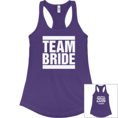 Team Bride Year