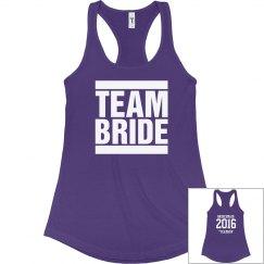 Team Bride Year