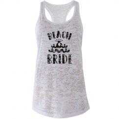 Beach Bride Raglan Tank
