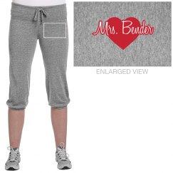 Mrs. Bender w/Red Heart