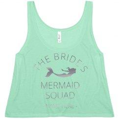 Silver Metallic Mermaid Squad