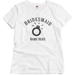 Bridesmaid Custom Ring