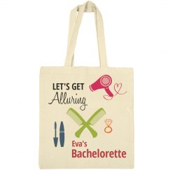 Let's Get Alluring Bachelorette Tote