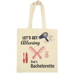 Let's Get Alluring Bachelorette Tote