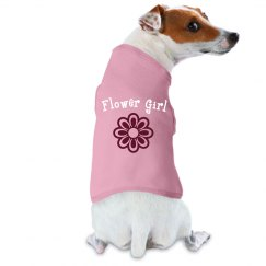 Flower Girl Dog