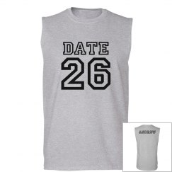 Sporty Save The Date Guy