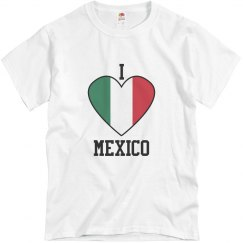 Men's I Love Mexico T-shirt