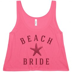A Trendy Beach Bride