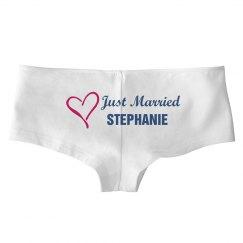 Just Married Undies