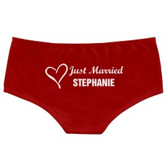Just Married Undies