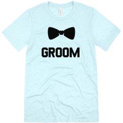 Groom Bow Tie Tee