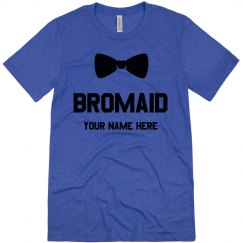 Custom Bromaid and Bow Tie Tee